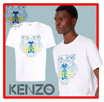 KENZO More T-Shirts Street Style Cotton Short Sleeves Designers T-Shirts