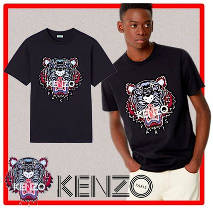 KENZO More T-Shirts Street Style Cotton Short Sleeves T-Shirts