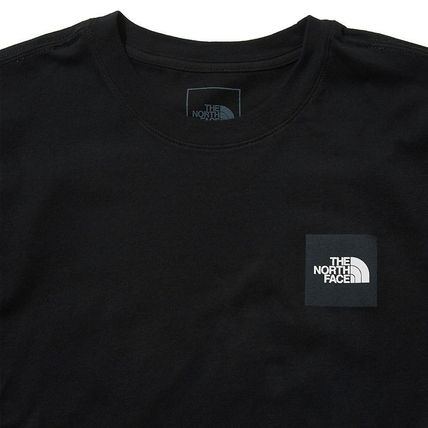 THE NORTH FACE More T-Shirts Unisex Street Style U-Neck Cotton Short Sleeves Logo Outdoor 3