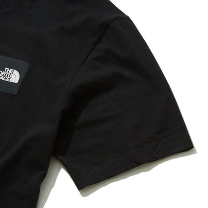 THE NORTH FACE More T-Shirts Unisex Street Style U-Neck Cotton Short Sleeves Logo Outdoor 4