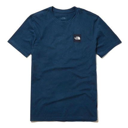 THE NORTH FACE More T-Shirts Unisex Street Style U-Neck Cotton Short Sleeves Logo Outdoor 6