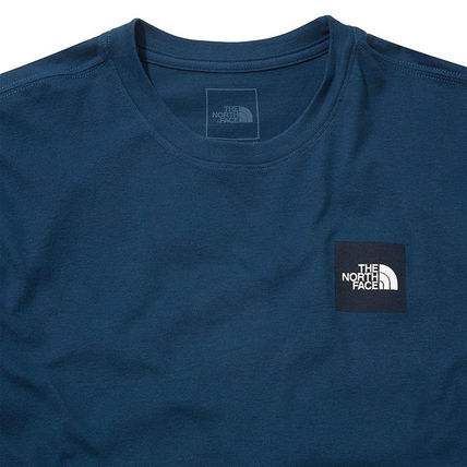 THE NORTH FACE More T-Shirts Unisex Street Style U-Neck Cotton Short Sleeves Logo Outdoor 7