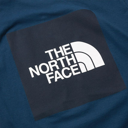 THE NORTH FACE More T-Shirts Unisex Street Style U-Neck Cotton Short Sleeves Logo Outdoor 8