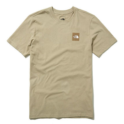 THE NORTH FACE More T-Shirts Unisex Street Style U-Neck Cotton Short Sleeves Logo Outdoor 9