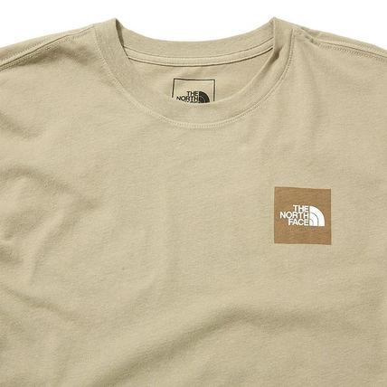 THE NORTH FACE More T-Shirts Unisex Street Style U-Neck Cotton Short Sleeves Logo Outdoor 10