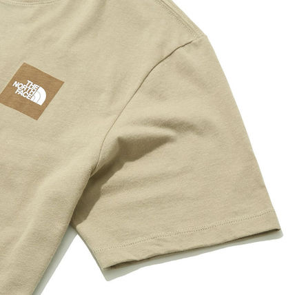 THE NORTH FACE More T-Shirts Unisex Street Style U-Neck Cotton Short Sleeves Logo Outdoor 11