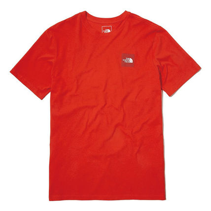 THE NORTH FACE More T-Shirts Unisex Street Style U-Neck Cotton Short Sleeves Logo Outdoor 13