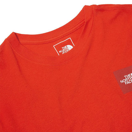 THE NORTH FACE More T-Shirts Unisex Street Style U-Neck Cotton Short Sleeves Logo Outdoor 14