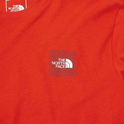 THE NORTH FACE More T-Shirts Unisex Street Style U-Neck Cotton Short Sleeves Logo Outdoor 15