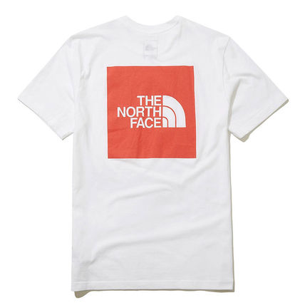 THE NORTH FACE More T-Shirts Unisex Street Style U-Neck Cotton Short Sleeves Logo Outdoor 18