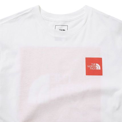 THE NORTH FACE More T-Shirts Unisex Street Style U-Neck Cotton Short Sleeves Logo Outdoor 19