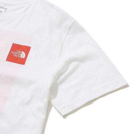 THE NORTH FACE More T-Shirts Unisex Street Style U-Neck Cotton Short Sleeves Logo Outdoor 20