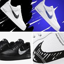 Nike AIR FORCE 1 Unisex Street Style Sneakers