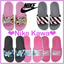 Nike Unisex Street Style Icy Color Kids Girl Sandals