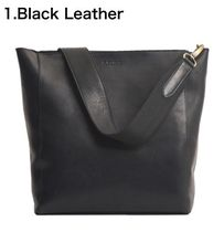 O MY BAG Casual Style A4 2WAY Plain Leather Office Style Crossbody