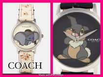 Coach Round Stainless Analog Watches