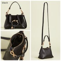 See by Chloe Casual Style 2WAY Plain Leather Shoulder Bags