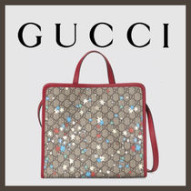 GUCCI Unisex Collaboration Kids Girl Bags