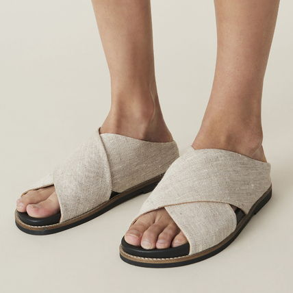 Casual Style Party Style Footbed Sandals Office Style