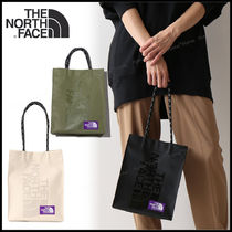 THE NORTH FACE Unisex Street Style Logo Totes
