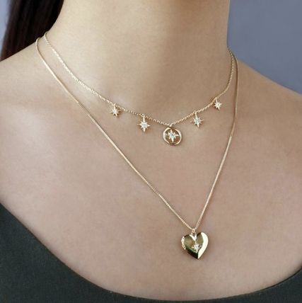 Casual Style Chain Party Style Brass 14K Gold Elegant Style