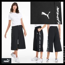 PUMA Cotton Medium Logo Culottes