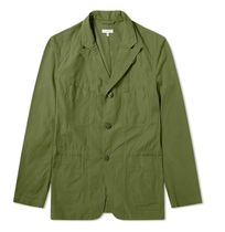 Engineered Garments Short Plain Khaki Military Blazers Jackets