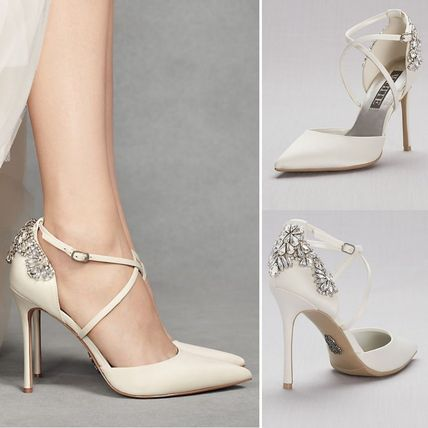Plain With Jewels Shoes