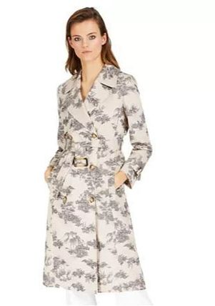 Casual Style Plain Medium Office Style Trench Coats