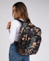 Billabong Flower Patterns Casual Style Unisex A4 Logo Backpacks