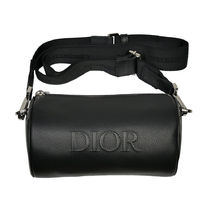Christian Dior Street Style Plain Leather Crossbody Bag Small Shoulder Bag