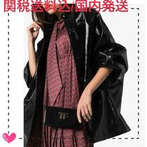 TOM FORD Casual Style Plain Leather Party Style Elegant Style