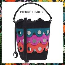 Pierre Hardy Casual Style Suede 2WAY Shoulder Bags