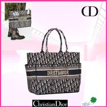 Christian Dior Casual Style Canvas Street Style 2WAY Handmade Elegant Style
