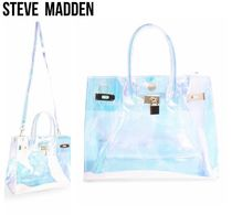 Steve Madden Casual Style 2WAY Crystal Clear Bags Elegant Style Crossbody