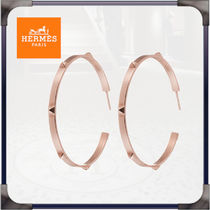 HERMES Casual Style Party Style Elegant Style Bridal Earrings