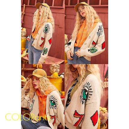 Casual Style Street Style Cardigans