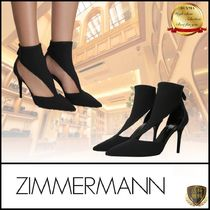 Zimmermann Casual Style Plain Pin Heels Party Style Elegant Style