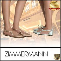 Zimmermann Casual Style Plain Elegant Style Pointed Toe Pumps & Mules