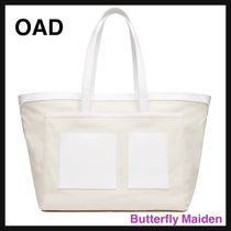OAD NEW YORK Casual Style Plain Office Style Totes