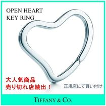 Tiffany & Co OPEN HEART Heart Keychains & Bag Charms
