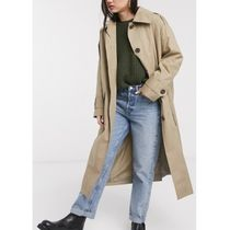 ASOS Casual Style Plain Long Office Style Trench Coats