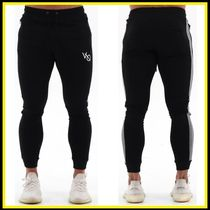 VANQUISH FITNESS Tapered Pants Sweat Plain Logo Tapered Pants