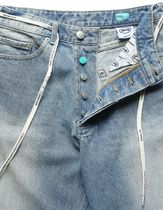 87MM More Jeans Unisex Street Style Cotton Jeans 12
