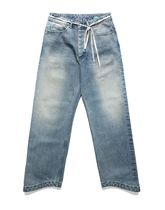 87MM More Jeans Unisex Street Style Cotton Jeans 13