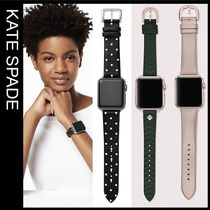 kate spade new york Casual Style Elegant Style Apple Watch Belt Watches