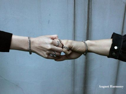 August Harmony Unisex Street Style Rings
