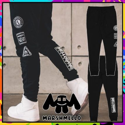 Unisex Street Style Cotton Co-ord Logo Joggers & Sweatpants