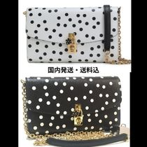 Dolce & Gabbana Dots Casual Style 2WAY Chain Party Style Bridal