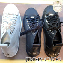 Jimmy Choo Studded Leather Sneakers